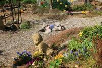 庭で、ゴロンゴロ~ン - FUNKY'S BLUE SKY