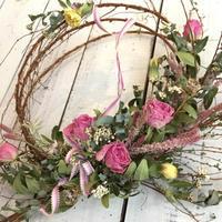 4月の1dayレッスンのお知らせです♪ - driedflower arrangement ✦︎ botanical accessory ✦︎ yukonanai ✦︎ gland*