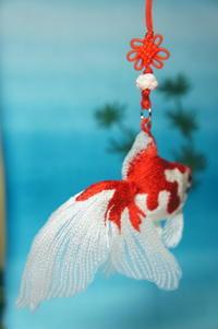 金魚の嫁入り♪ - ソライロ刺繍