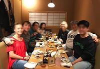 GG'sクリスティン家、来日で何十年ぶりに集う@芝大門・鮨まとり! - Isao Watanabeの'Spice of Life'.