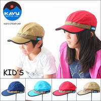 KAVU [カブー] KID'S STRAP CAP [11864404] キッズストラップキャップ / 女の子・男の子・KID'S - refalt   ...   kamp temps