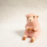 ピンクの羊 - miz-fc