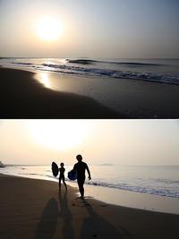 2018/04/02(MON) 今朝は暖かい海辺です。 - SURF RESEARCH