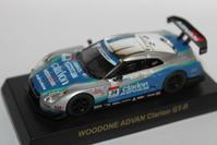 1/64 Kyosho GT-R RACING CAR WOODONE ADVAN Clarion GT-R - 1/87 SCHUCO & 1/64 KYOSHO ミニカーコレクション byまさーる