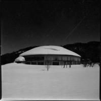 旧太陽小の円形体育館 - 萩原義弘のすかぶら写真日記