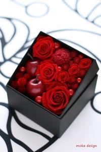 還暦&退職祝い ボックスアレンジ* - Flower letters