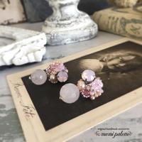 さくらピンク色のピアス・イヤリング - 心の記憶