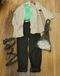 coodinate Linen Jacket - carboots