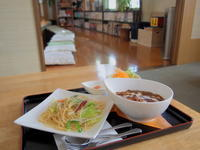 ふかうら雪人参ビーフシチューおまかせパスタセット:食事処セイリング(深浦町) - 津軽ジェンヌのcafe日記