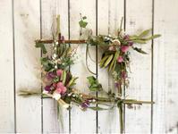 フレームアレンジ 1dayレッスン① - driedflower arrangement ✦︎ botanical accessory ✦︎ yukonanai ✦︎ gland*