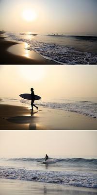 2018/04/04(WED) 春霞の海辺では.......。 - SURF RESEARCH