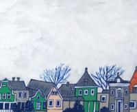 雨で寒い日 - たなかきょおこ-旅する絵描きの絵日記/Kyoko Tanaka Illustrated Diary