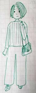 自然に歩く - たなかきょおこ-旅する絵描きの絵日記/Kyoko Tanaka Illustrated Diary