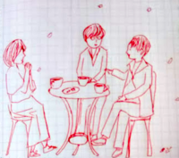 桜咲く - たなかきょおこ-旅する絵描きの絵日記/Kyoko Tanaka Illustrated Diary