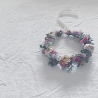 WS「花かんむりの会」…ピンクの花かんむり… - ombrage diary