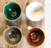 【注文制作】ロゴ入りコーヒーカップ - 陶工房スタジオ ル・ポット