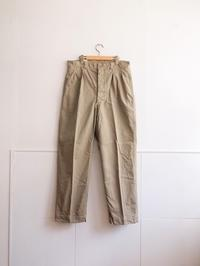 Dead Stock  |  60's French Army Chino - Humming room