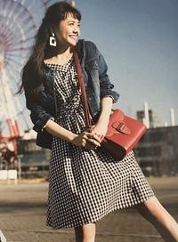 Ray5月号掲載ITEM♥♥松井愛莉さん着用のトランテアンのお勧めギンガムチェックワンピ! - *Ray(レイ) 系ほなみのブログ*