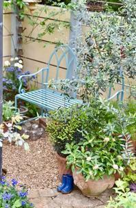 裏庭の椅子 - 小さな庭 2