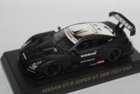 1/64 Kyosho GT-R RACING CAR NISSAN GT-R SUPER GT 2008 TEST CAR - 1/87 SCHUCO & 1/64 KYOSHO ミニカーコレクション byまさーる