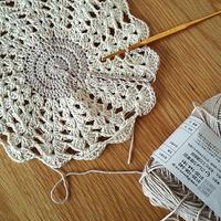 憧れのものを編み始めました - 毛糸に恋して