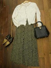 coodinate antique blouse - carboots