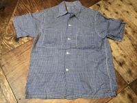 4月7日(土)入荷!50sall cotton オープンカラーボックスシャツ! - ショウザンビル mecca BLOG!!
