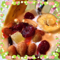 ドライフルーツ & コーグルト & 朝ココア - カルトナージュ教室 & ハンドクラフト教室 ~ La fraise blanche ~ ラ・フレーズ・ブロンシュ