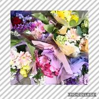 離任式の花束 - Rico 花の教室