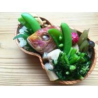 連子鯛煮付けBENTO - Feeling Cuisine.com