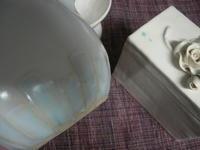 ■辰砂が飛んでます!■ - ちょこっと陶芸