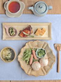 春の朝ごはん - 陶器通販・益子焼 雑貨手作り陶器のサイトショップ 木のねのブログ