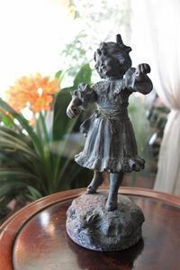 フィギュア「踊る少女」 値下げ - スペイン・バルセロナ・アンティーク gyu's shop