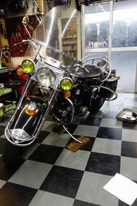 1958陸王RT--Ⅱクラッチ - Vintage motorcycle study