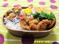 チキンかつ弁当 - まるまる☆弁当
