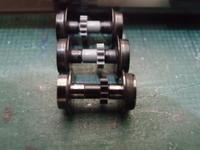 TOMIX キハ58の動力車輪をGM製に交換(お遊び) - 新湘南電鐵 横濱工廠3
