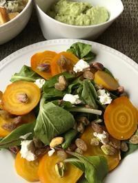 ローストしたビーツのサラダ二種 - やせっぽちソプラノのキッチン2