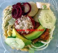 ズッキーニのおいしい季節 - ジャマイカブログ Ricoのスケッチ・ダイアリ
