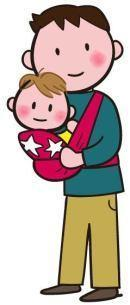 赤ちゃんの抱っこの仕方今昔(岡) - 柚の森の仲間たち