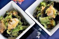 ■作り置きの酢味噌で簡単!!5分【酢味噌和え2種】 ♪ - 「料理と趣味の部屋」