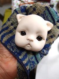 ぶちゃ猫1匹。。お顔出来ました♪^^ - rubyの好きなこと日記