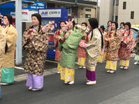 今年の武者行列〜! - 松江に行こう。奈良 京都 松江。 3つの国際文化観光都市  貴谷麻以  きたにまい