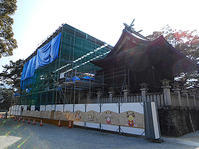 T神社屋根改修工事 - ShopMasterのひとりごと