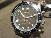 ZENITH 新作パイロットウォッチ入荷‼ - 熊本 時計の大橋 オフィシャルブログ