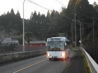 松山新橋 - リンデンバス ~バス停とその先に~