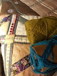 エリコの壁のデコレーション - eri-quilt日記3