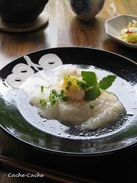 白だしでさっと♪ 揚げ餅の明太おろし煮 - Cache-Cache+