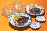 鰹のたたき/青柳と九条ネギの酢味噌和え/筍のおこわ - まほろば日記