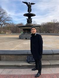 CDジャケット写真の撮影 - マリンバ奏者、名倉誠人のニューヨーク便り