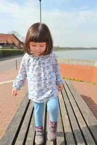 娘の初めてのアイスクリーム&ライン川散歩☆ - ドイツより、素敵なものに囲まれて②